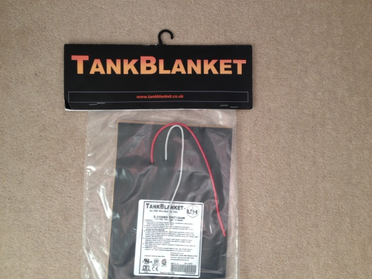 TankBlanket ... winterisation that works!